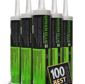 Green Glue soundproofing compound