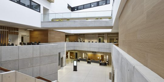 Acoustic treatment for educational facilities