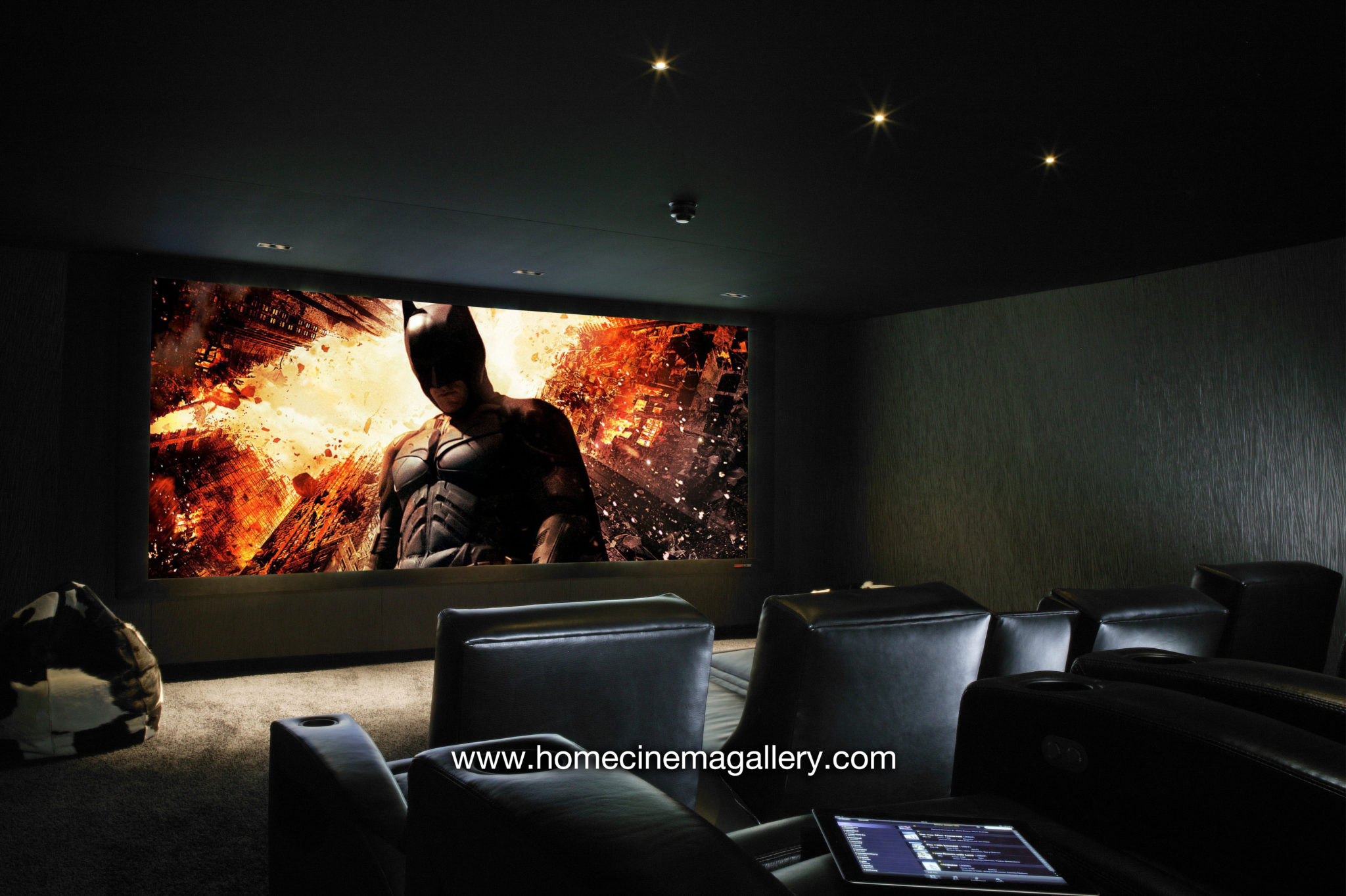 Acoustic solutions for home cinema